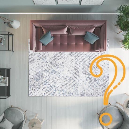 3 sposoby dobierania rozmiaru dywanu