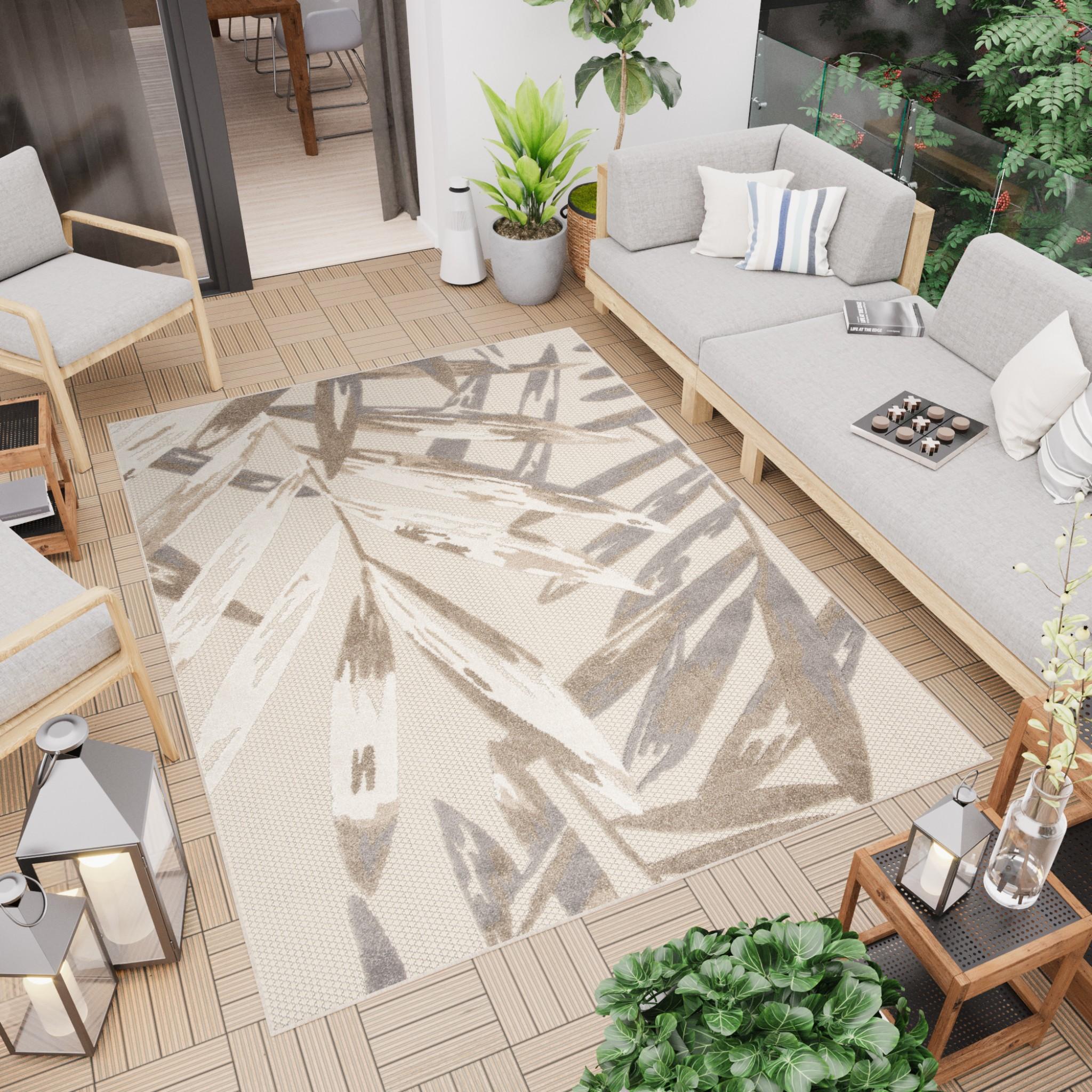 3 propozycje dywanów na taras