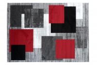 Dywan nowoczesny LUX VERSO 7444B A7A 41 czerwony