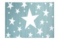 Dywan nowoczesny 1387A A7C LUX VERSO 65 niebieski