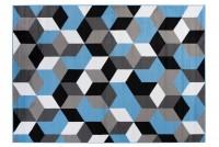 Dywan nowoczesny MAYA Q545A PP EYM niebieski