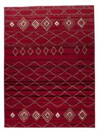 Dywan 3911 /BLACK/CARAMEL SCARLET RED