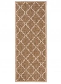 Dywan sznurkowy T709A NATURE EAJ brązowy