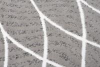 Dywan nowoczesny C429A LIGHT GRAY/ BALI PP biały