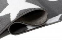 Dywan nowoczesny C440A DARK GRAY/ BALI PP biały