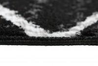 Dywan C429A BLACK/ BALI PP WHITE