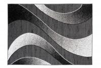 Dywan nowoczesny BALI PP C586D BLACK szary