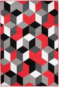 Dywan nowoczesny Q545A MAYA PP ESM czerwony