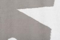Dywan nowoczesny C440A LIGHT GRAY/ BALI PP biały