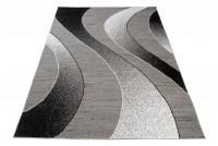 Dywan nowoczesny BALI PP C586C /BLACK szary