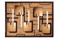 Dywan nowoczesny C514D BALI PP brązowy