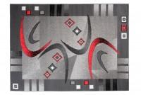 Dywan C583D BLACK/ BALI PP RED
