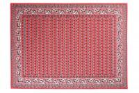 Dywan nowoczesny C512G RED/ BALI PP biały