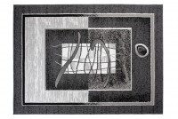 Dywan nowoczesny BALI PP C584D BLACK szary