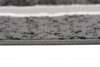 Dywan nowoczesny C584D BLACK/ BALI PP szary