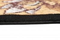 Dywan nowoczesny C511F BLACK/ BALI PP beżowy