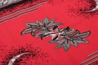 Dywan nowoczesny C511G /BLACK BALI PP czerwony