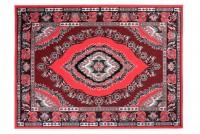 Dywan nowoczesny BALI PP C509G /BLACK czerwony
