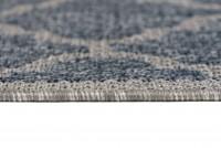 Dywan sznurkowy T709A NATURE FDO niebieski