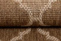 Dywan sznurkowy T709B NATURE EAJ brązowy