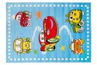 Dywan dziecięcy SMILE G011A CFV niebieski
