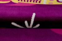 Dywan dziecięcy T823A SMILE CFW fioletowy