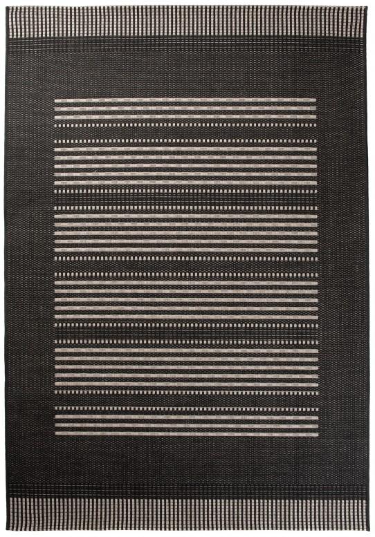 Dywan 20001 / Silver BLACK