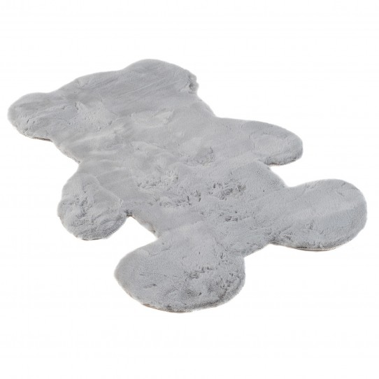 Dodatek RABBIT FUR TEDDY BEAR GRAY