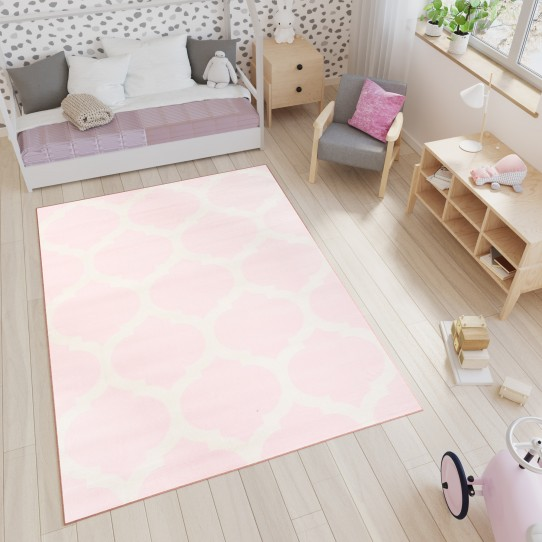 Dywan T824A LIGHT SMILE CFV PINK