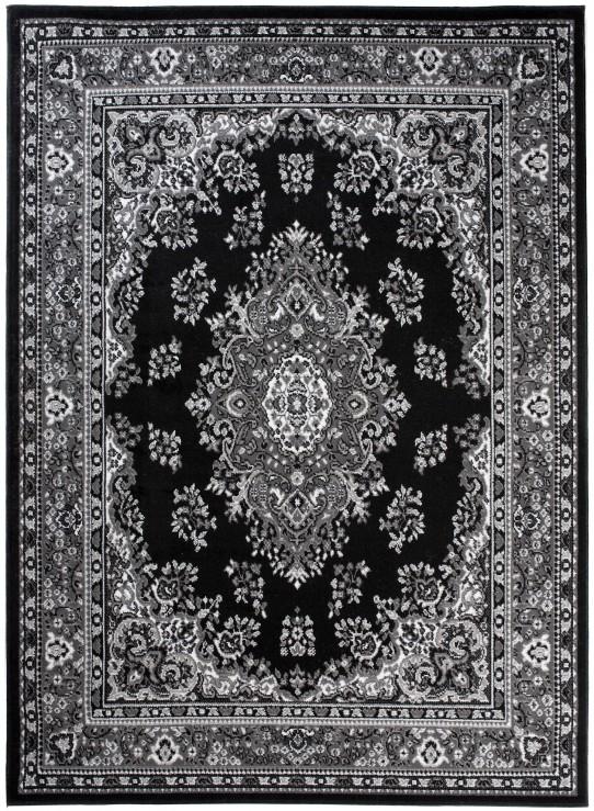 Dywan C515D BLACK/ BALI PP GRAY